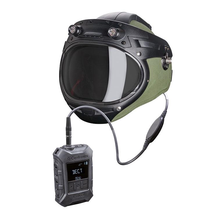 Full duplex radio CT-DECT Multi linked to EOD-10 helmet
