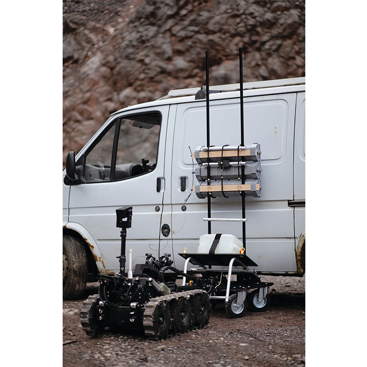 Disruptors against Vehicle-Borne IEDs (VBIED) - MLVD