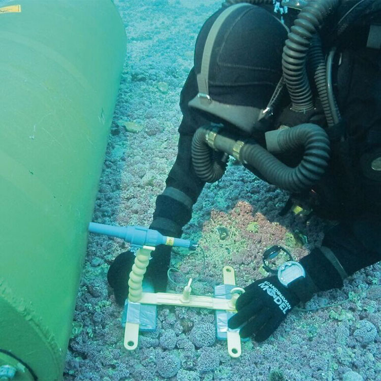 Vulcan Counter Limpet Mine System (VCLMS) underwater charge