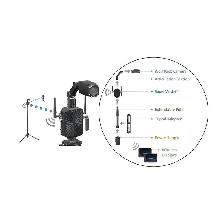 Wolf Pack Imaging System - Mesh Configuration