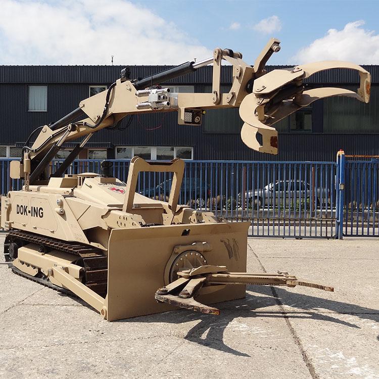 Engin robotisé MV4 – C-IED
