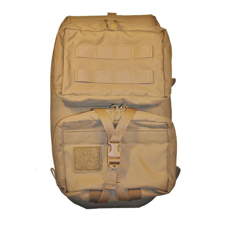 Bagage d'assaut Helium Whisper® Assault Back Panel Type 1 Multicam Marron Coyote