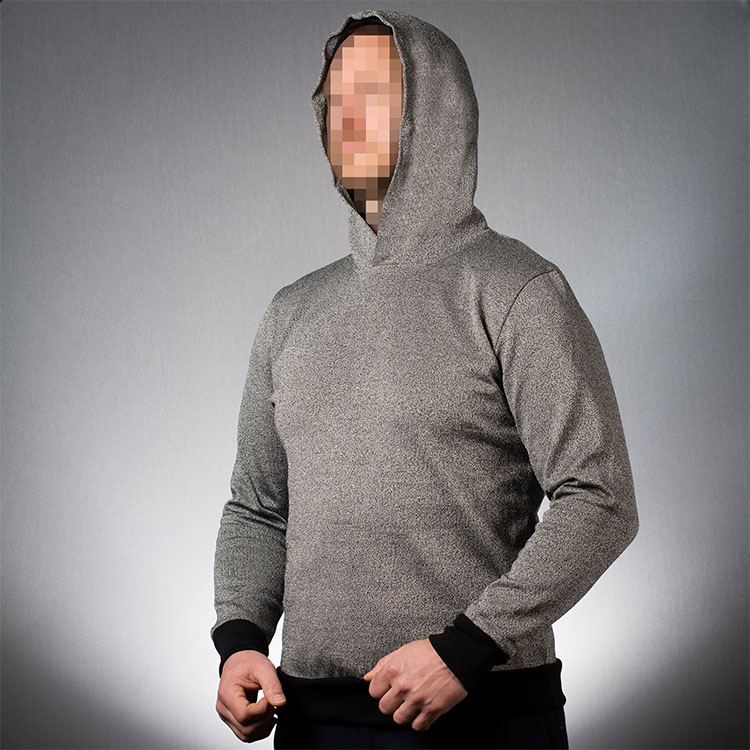 Slash-resistant clothing - Hoodie