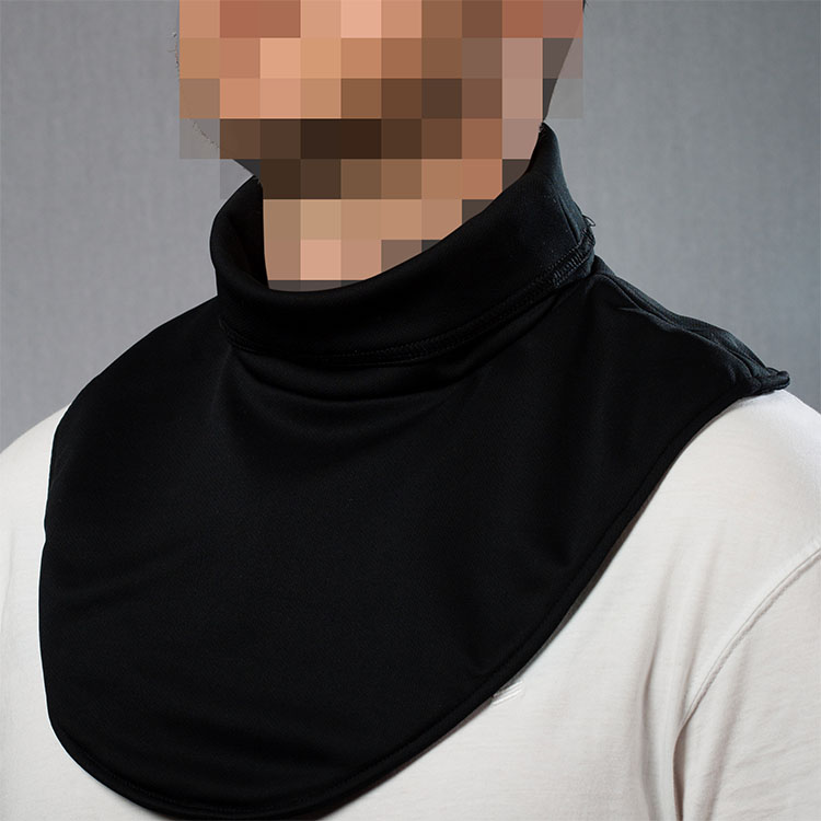 Slash-resistant clothing - Neck guard