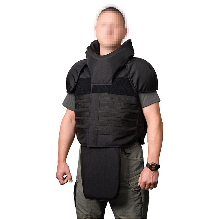 Stab-resistant anti-riot suit