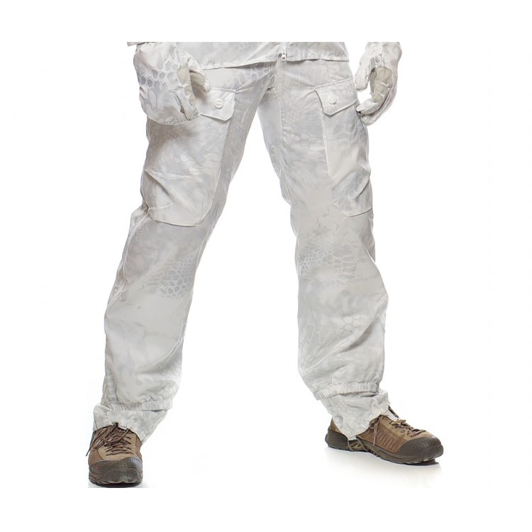 Overwhite camouflage oversuit - Trousers