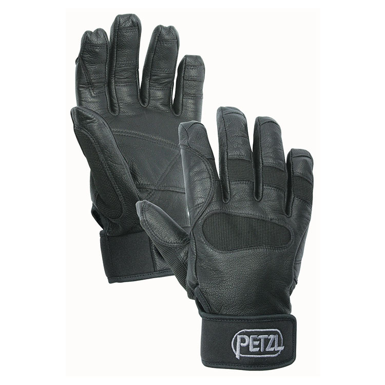 Protective rappel gloves