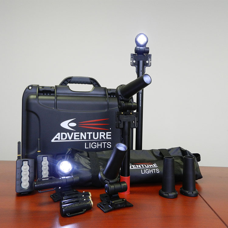 Remote-controlled light marking kits