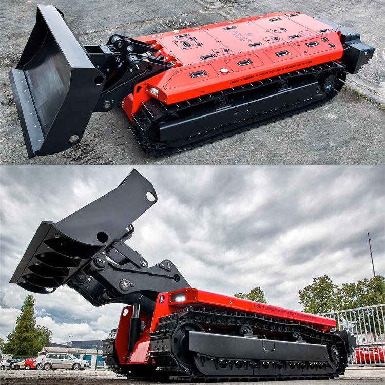 Dozer robotisé compact XLPD