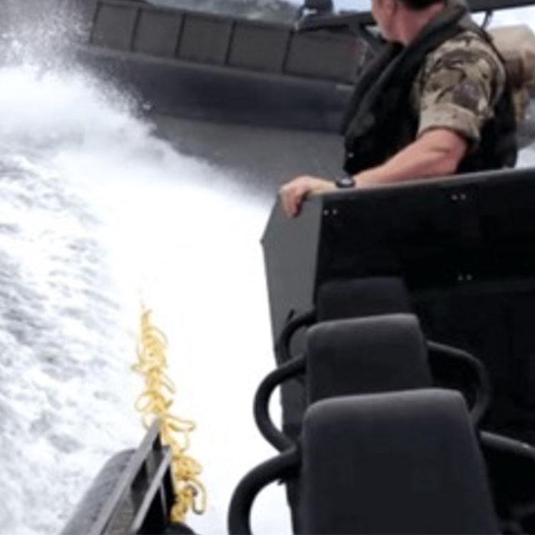 Système d'arrêt d'embarcation dynamique : VARD
