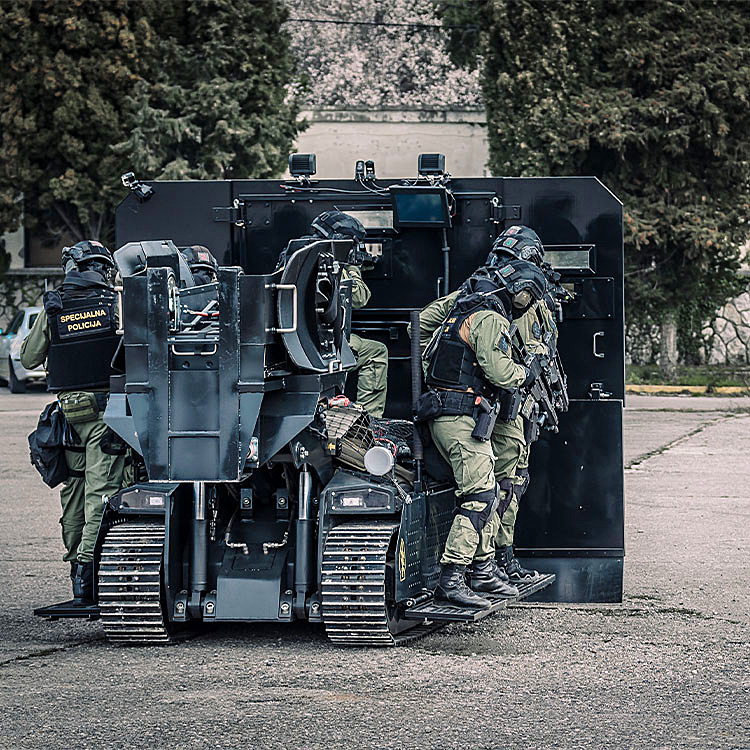 MV-3 Counter Terrorism Robotic Vehicle