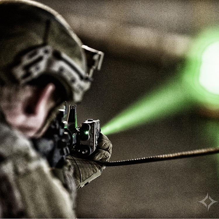 Glare recoil