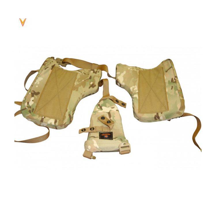 Harnais de protection porte-plaques K9