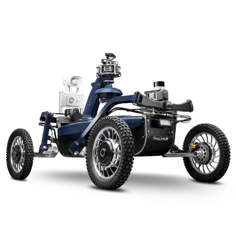 Robot autonome de surveillance THALAMUS